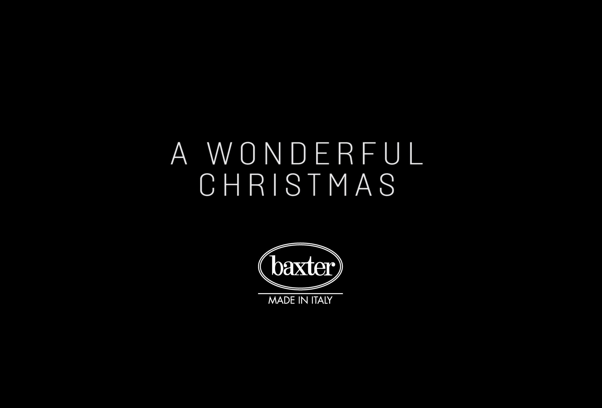 A WONDERFUL CHRISTMAS - BAXTER 2019