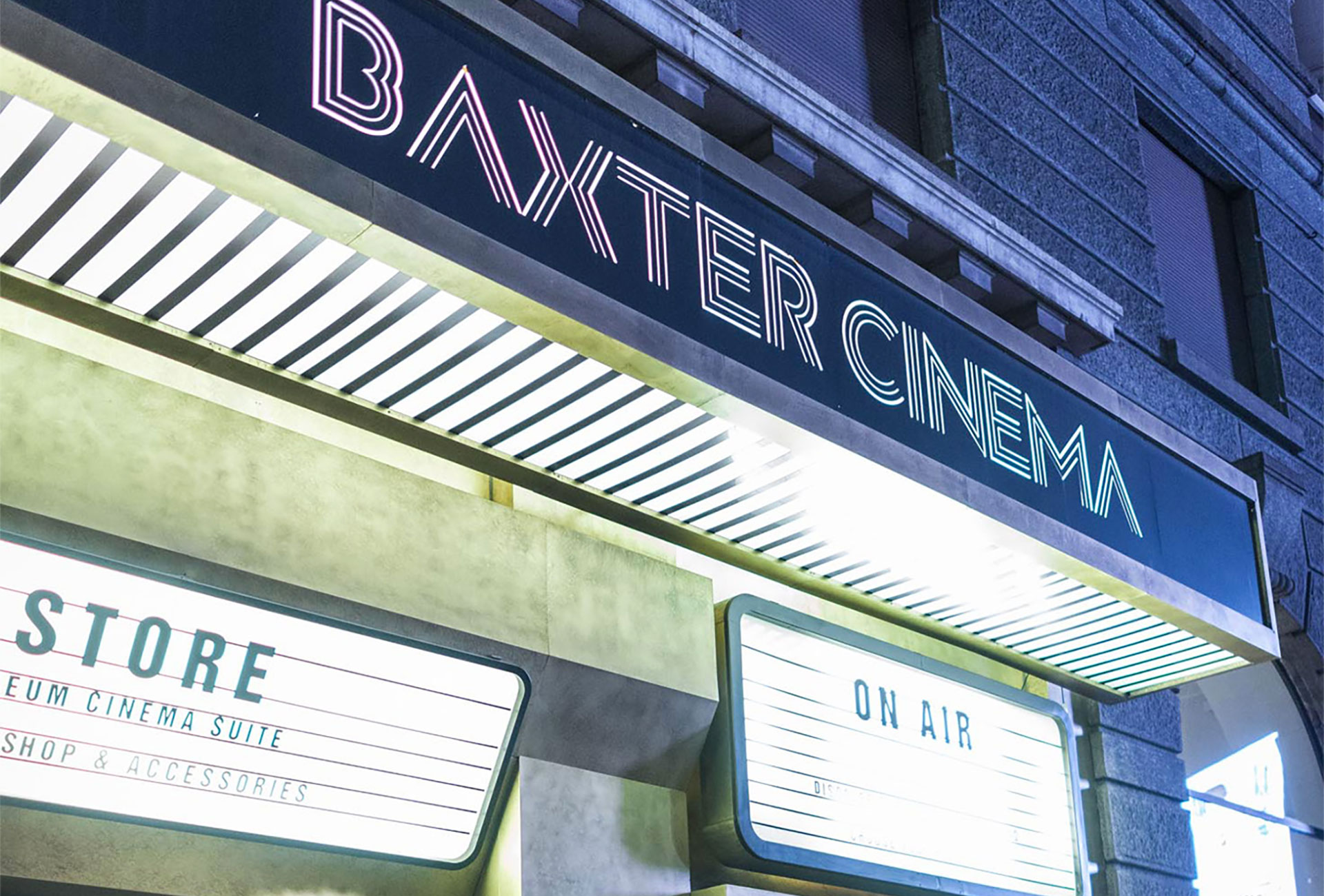 BAXTER CINEMA | PARTY FUORISALONE 2018