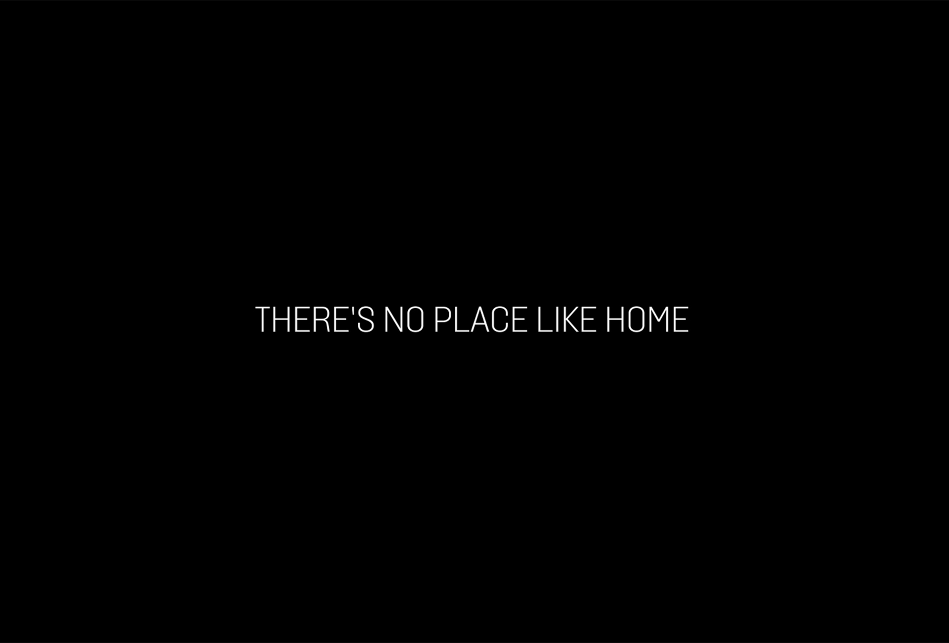 CHRISTMAS 2020 THERE'S NO PLACE LIKE HOME